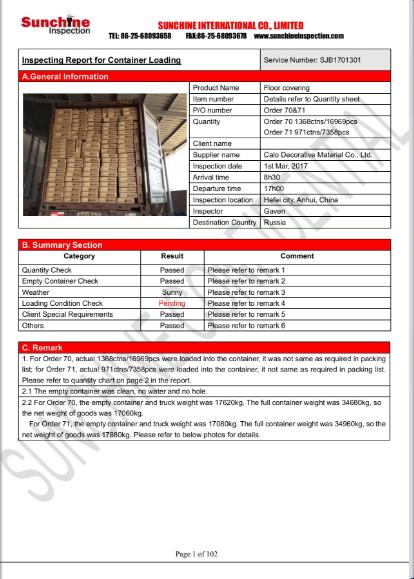 For CLC-Sundry Goods