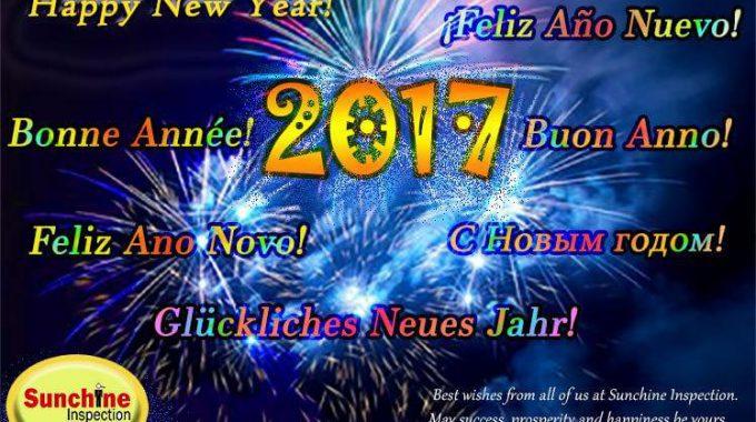 Quality Control Happy New Year 2017