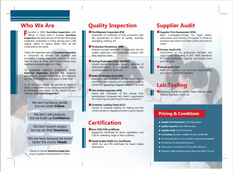 Sunchine Inspection Brochure-2