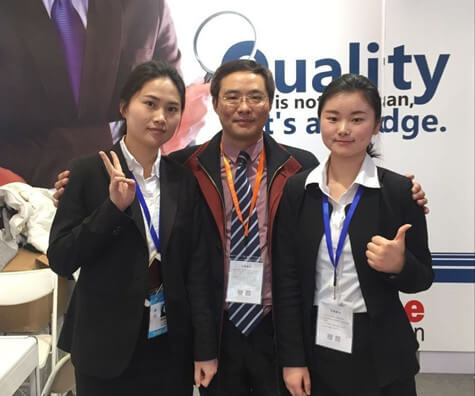 Sunchine at East China Import and Export Fair of the 26th (8)