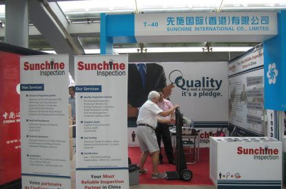 Sunchine Inspection In The 113th Canton Fair In Canton