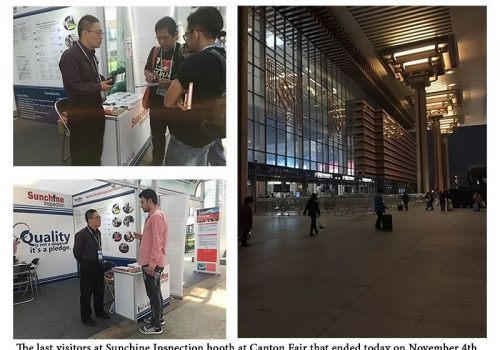 Sunchine Inspection At The Third Phase Of The 120th Canton Fair