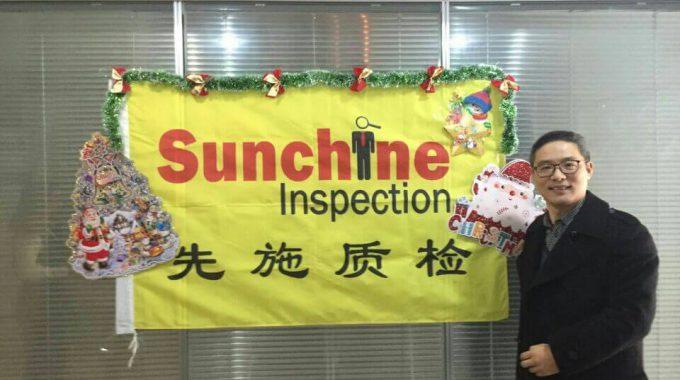 Christmas Blessings Of Sunchine Inspection Team
