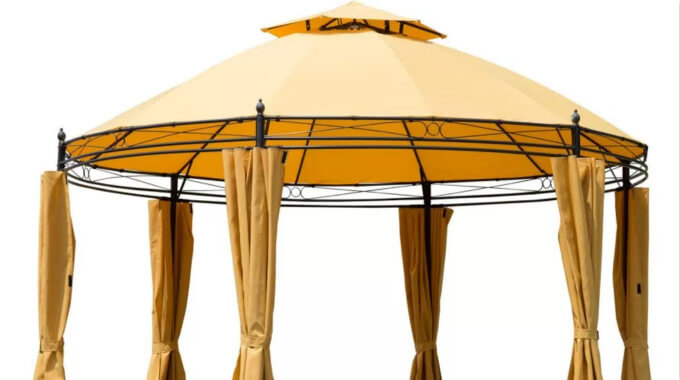 Pre-Shipment Inspection Of Production Of Gazebo Tents
