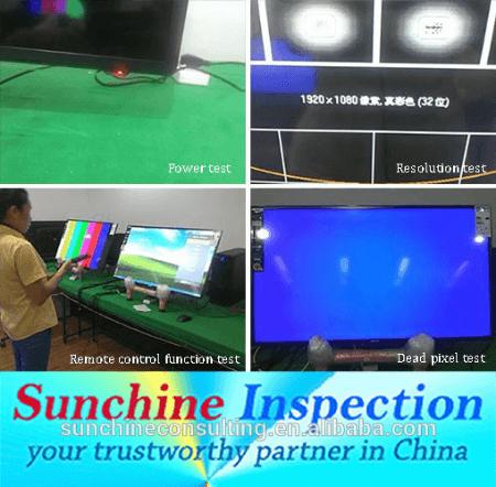 Quality Control Of Flat Screen TV/ CCTV Camera Quality