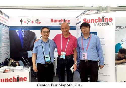 Sunchine Inspection At The Third Phase Of The 121st Canton Fair