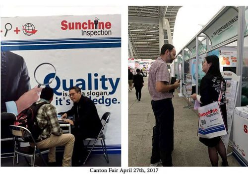 Sunchine Inspection At The Second Phase Of The 121st Canton Fair