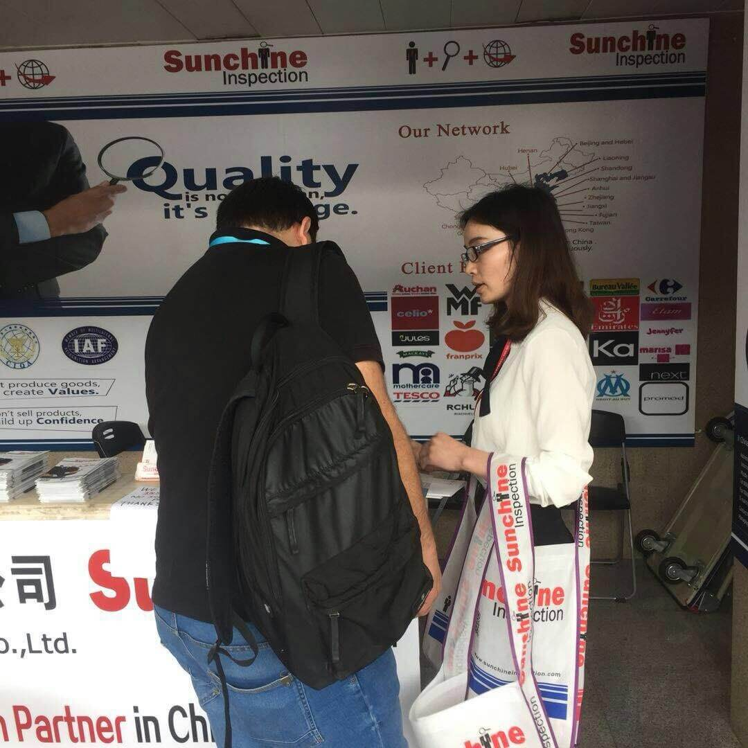 Some Photos Of The Visitors Who Came Today At Sunchine Inspection Booth – Apr 18, 2018