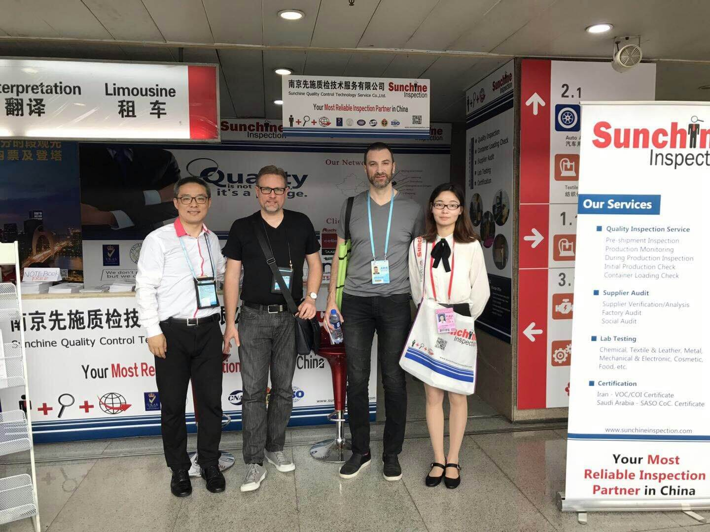 Canton Fair Phase 1 Ended Today  – Apr 19, 2018