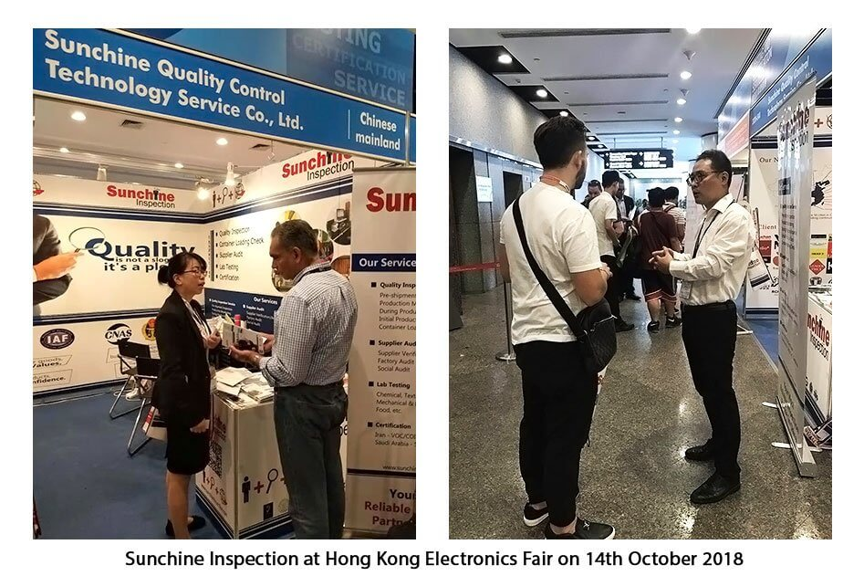 Hong Kong Electronics Fair Will Close Tomorrow