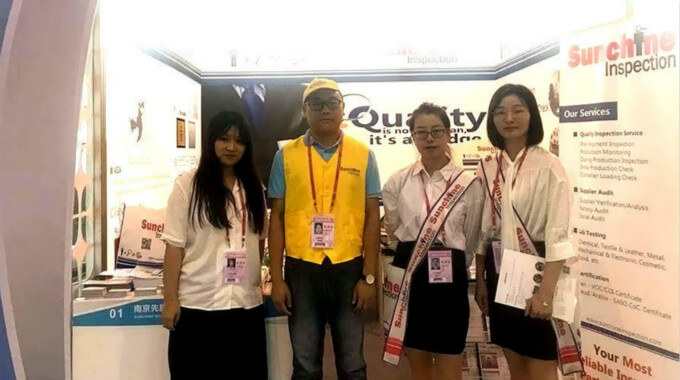 Welcome The Visitors At Sunchine Inspection Booths