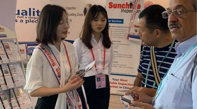 You're Welcome To Visit Sunchine Inspection's Booths