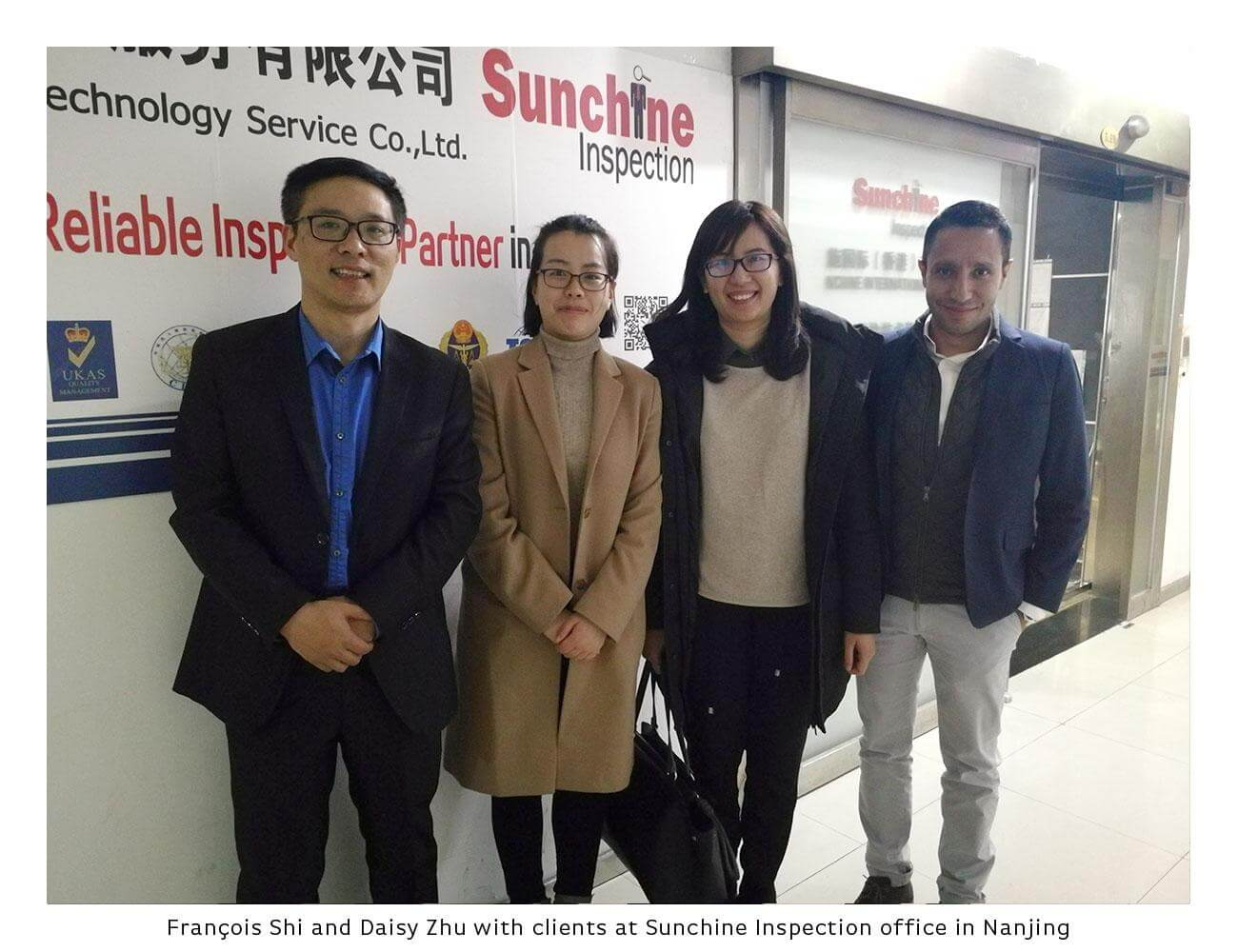 Mexican Clients Came To Visit Sunchine Inspection Office