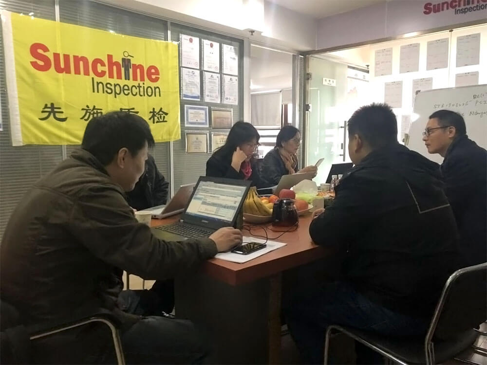 CNAS Experts At Sunchine Inspection Office In Nanjing
